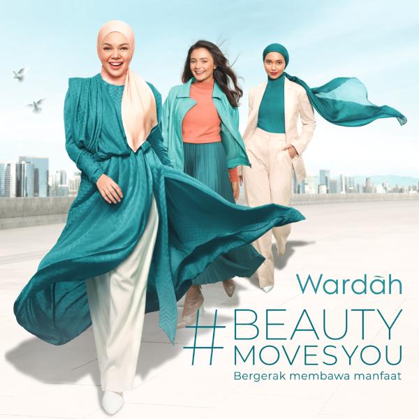 Luncurkan Campaign Beauty Moves You, Wardah Berkomitmen Bergerak Membawa Manfaat