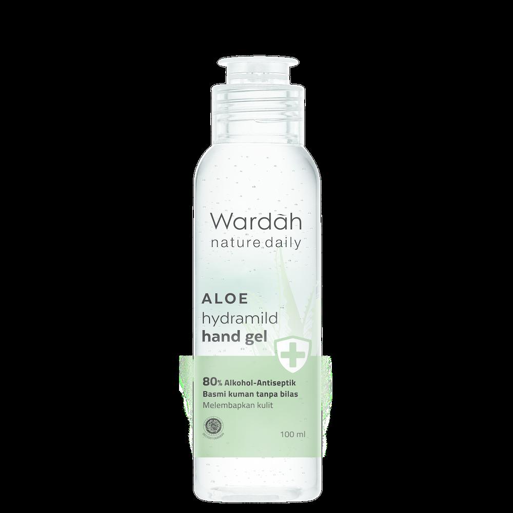Wardah Nature Daily Aloe Hydramild Hand Gel 100 ml