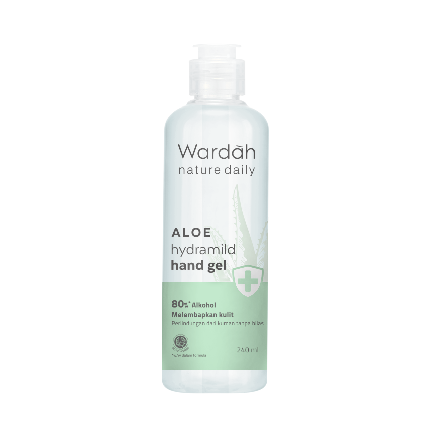 Wardah Nature Daily Aloe Hydramild Hand Gel 240 ml