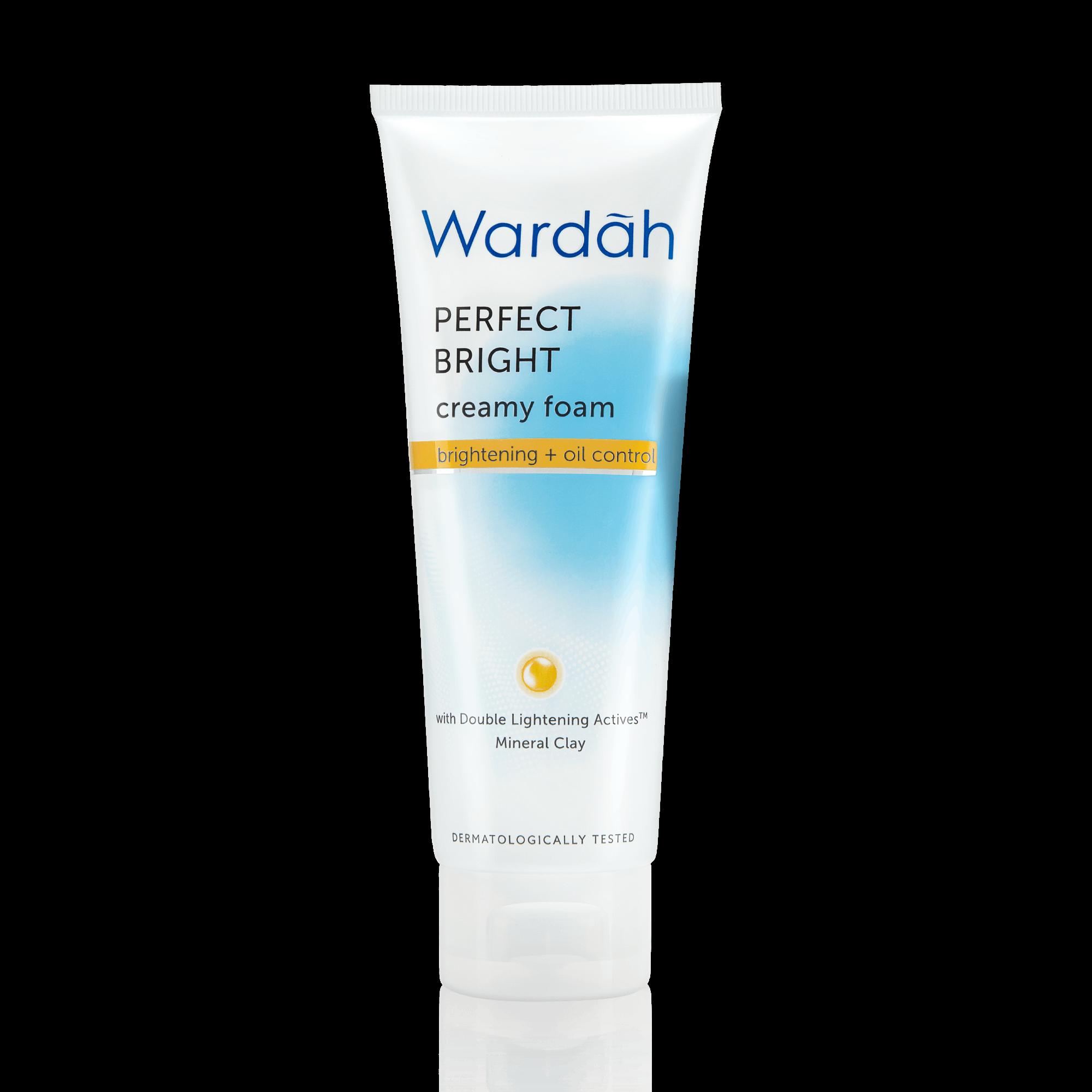 Wardah Perfect Bright Creamy Foam Brightening + Oil Control 100ml