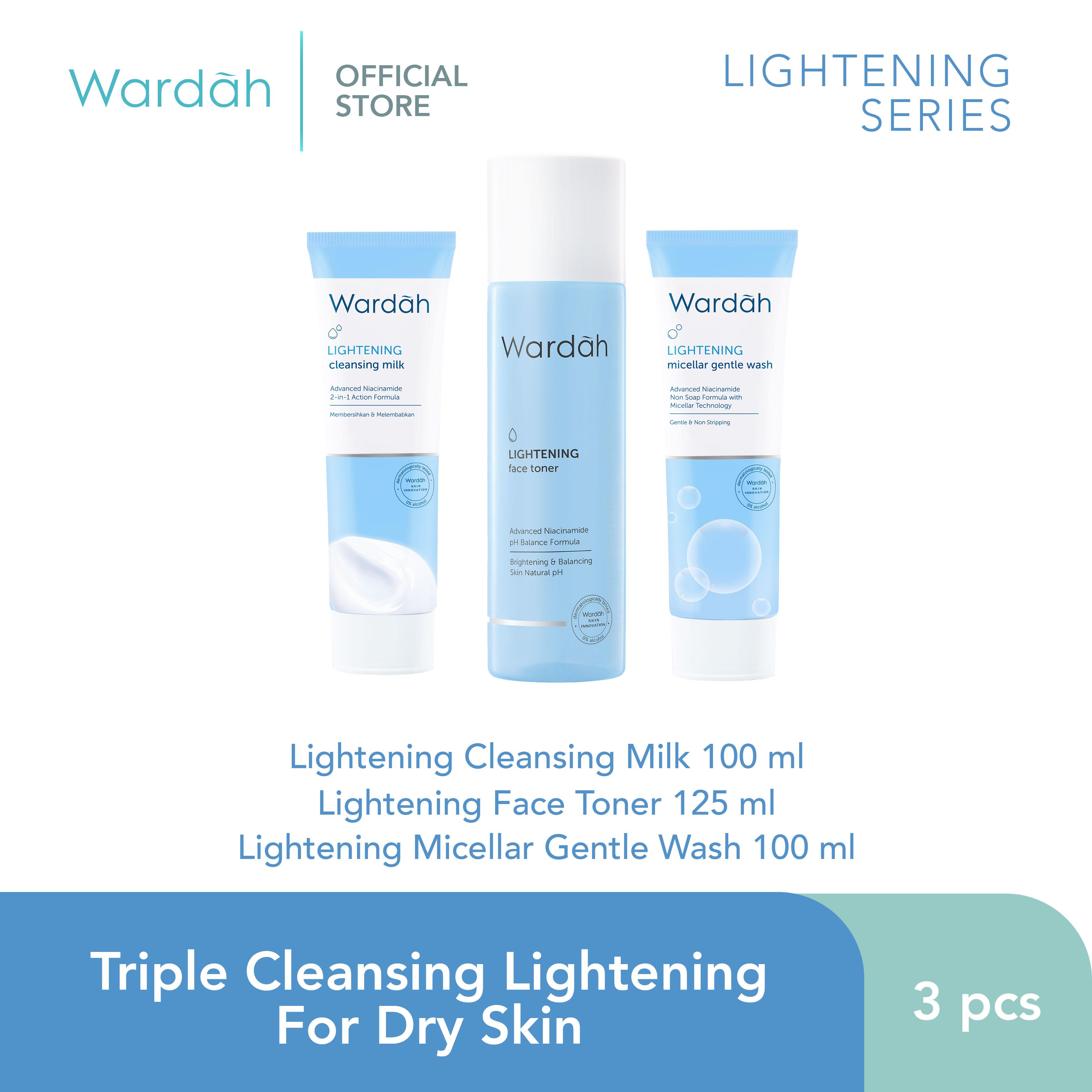 Triple Cleansing Lightening For Dry Skin
