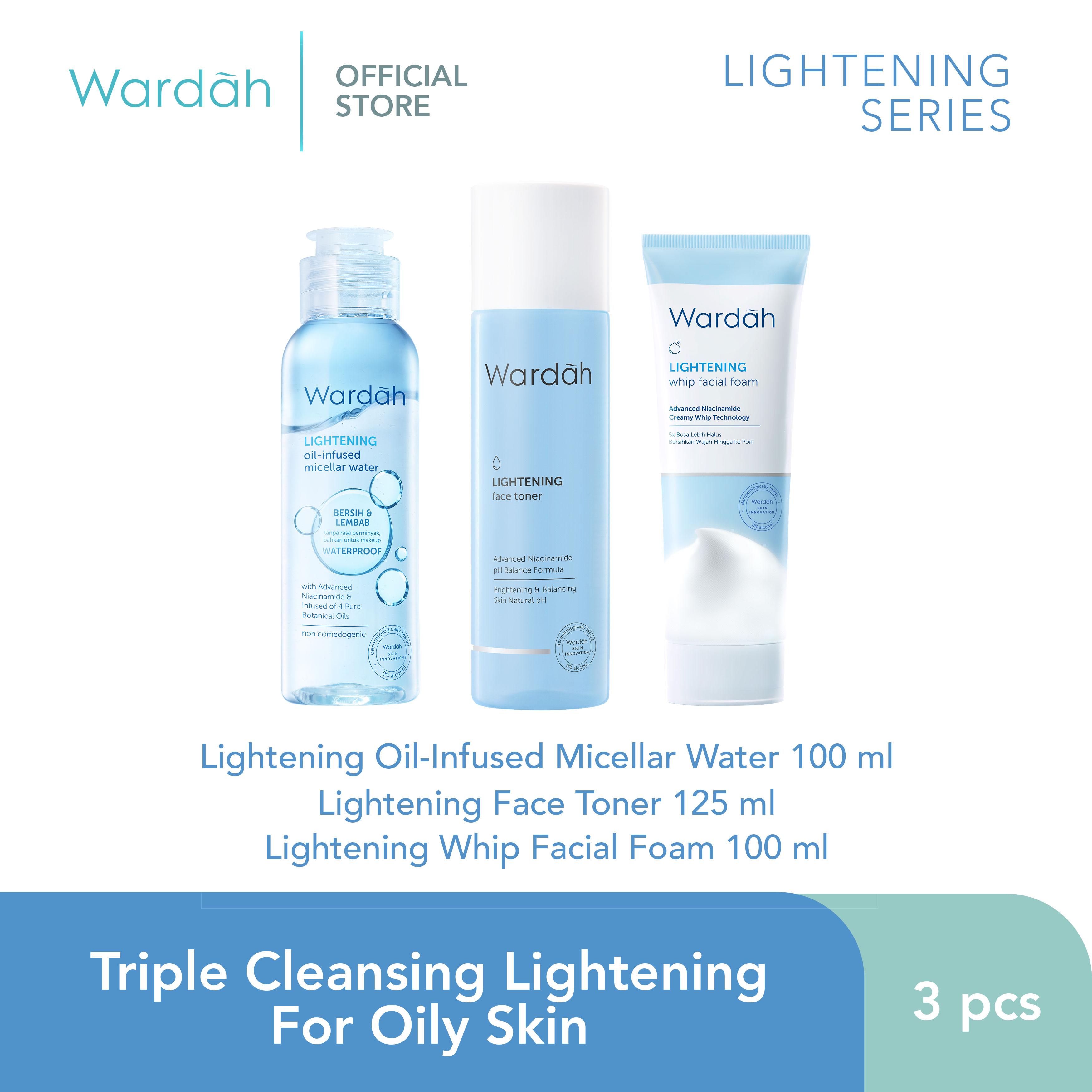 Triple Cleansing Lightening For Oily Skin