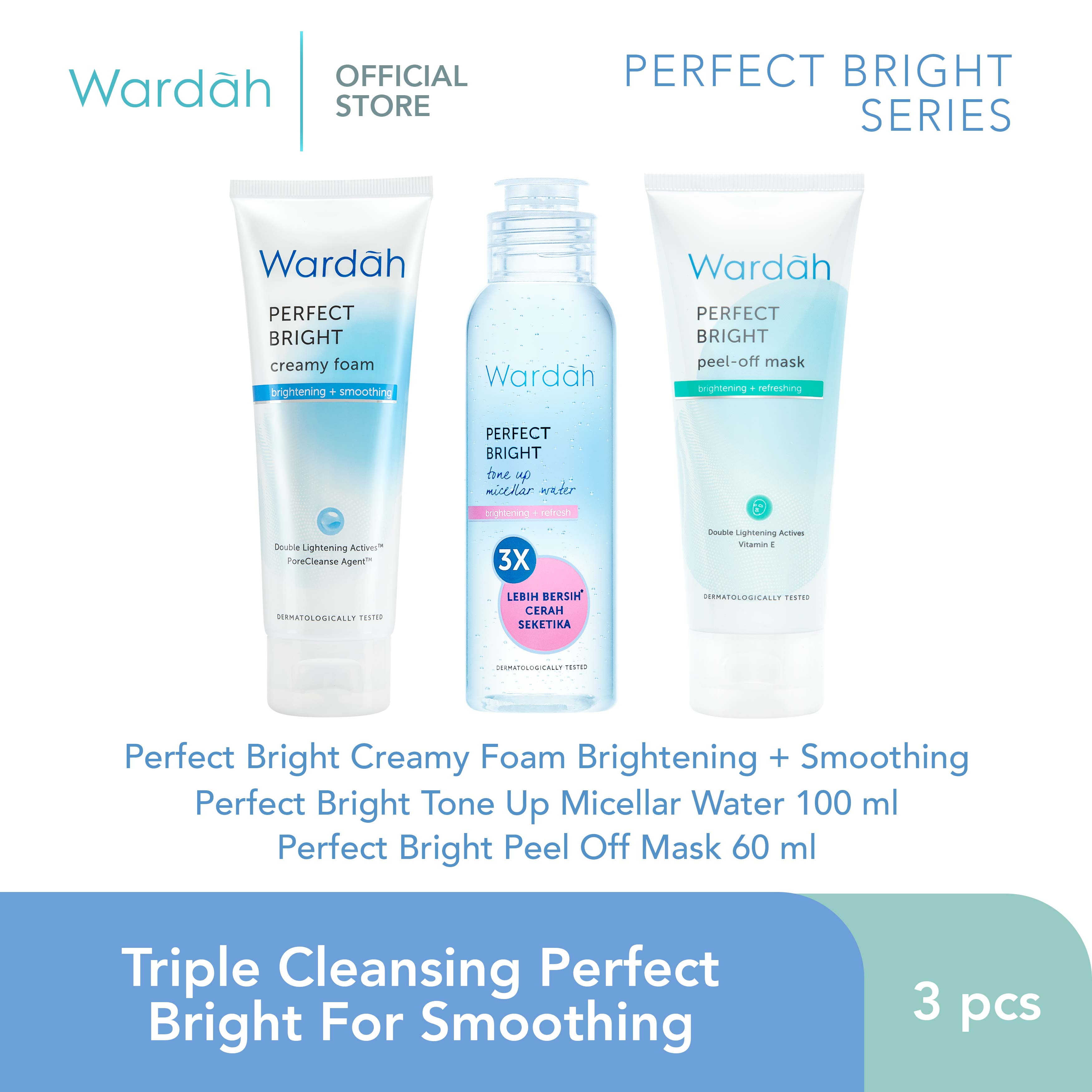 Triple Cleansing Perfect Bright For Smoothing
