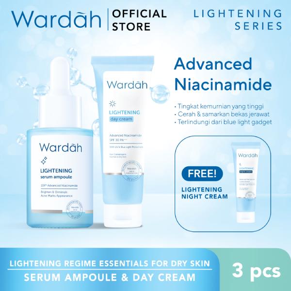 Lightening Regime Essentials For Dry Skin