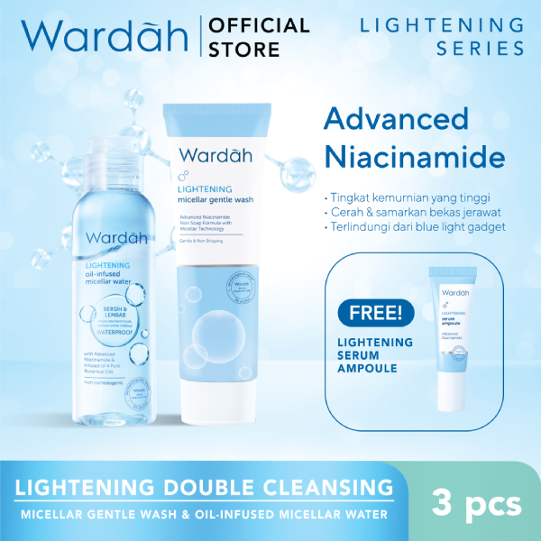 Lightening Double Cleansing
