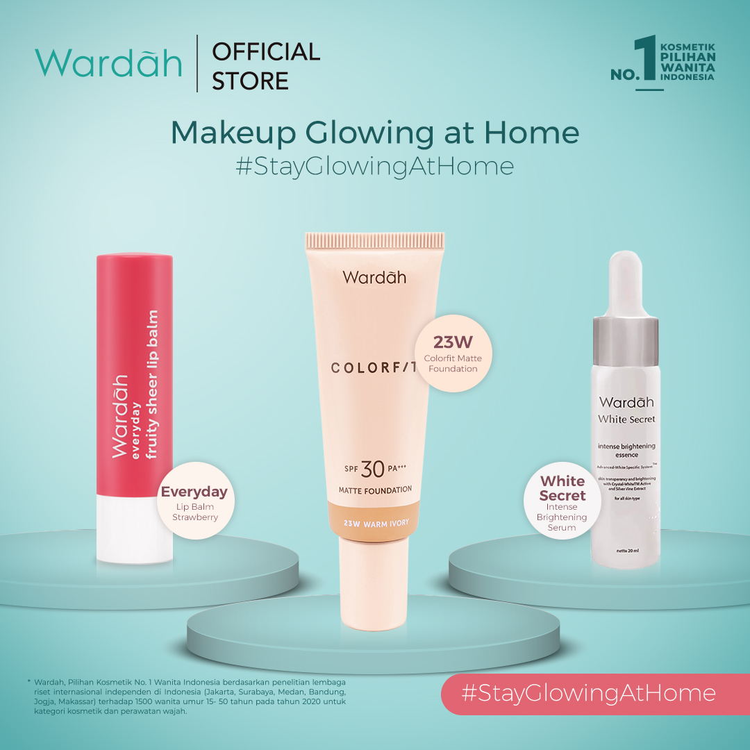 Make Up Glowing At Home #StayGlowingatHome Package 2