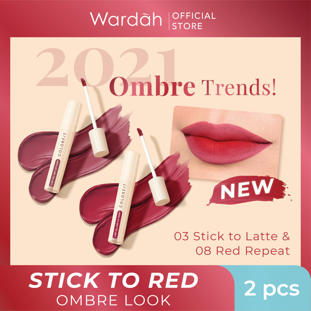 Stick to Red - Red Ombre Look Package #BeautyTrendSetter