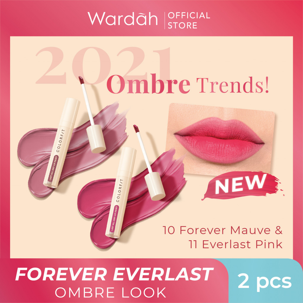 Forever Everlast - Pink Ombre Look Package #BeautyTrendSetter