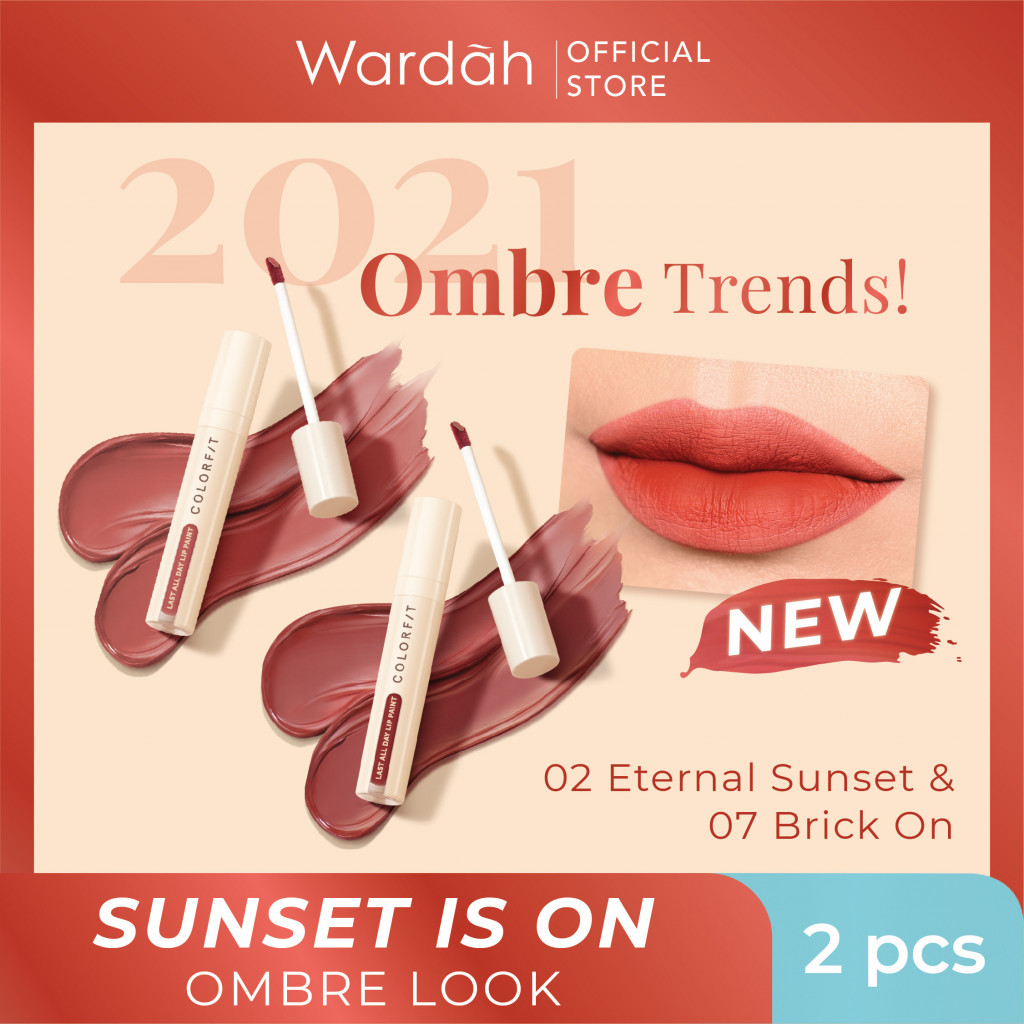 Sunset is On - Orange Ombre Look Package #BeautyTrendSetter