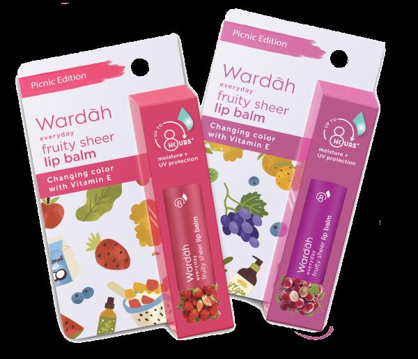 Pop Your Picnic Wardah Lip Balm Package